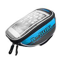 Велосипедная сумка-бардачок для смартфона B-SOUL синяя, фото 1