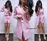 Женский стильный костюм: пиджак-трансформер и комбинезон (3 цвета), фото 4