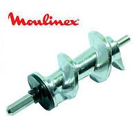 Шнек для мясорубки Moulinex SS-989487 (с уплотнительным кольцом) L=128