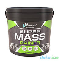 Гейнер для набору маси Powerful Progress Super Mass Gainer (4 кг) Гейнер поверфул прогрес banana