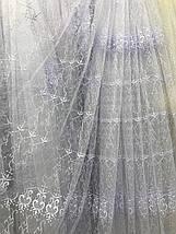 Тюль фатин белый VST-1278, фото 2