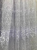 Тюль фатин белый VST-1278, фото 3