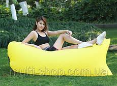 Ламзак Lamzak надувной матрас диван кресло Жёлтый
