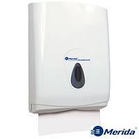 Держатель для бумажных полотенец 500 шт. Merida Top Maxi Серый, фото 1