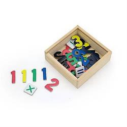 "Набор магнитов Viga Toys ""Цифры"" 37 шт. (50325)"