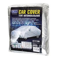 Тент для автомобиля VITOL CC11106 (F 170T/CC11106 L), р-р L, серый, полиэстер, 483х178х120 см, чехол автомобильный
