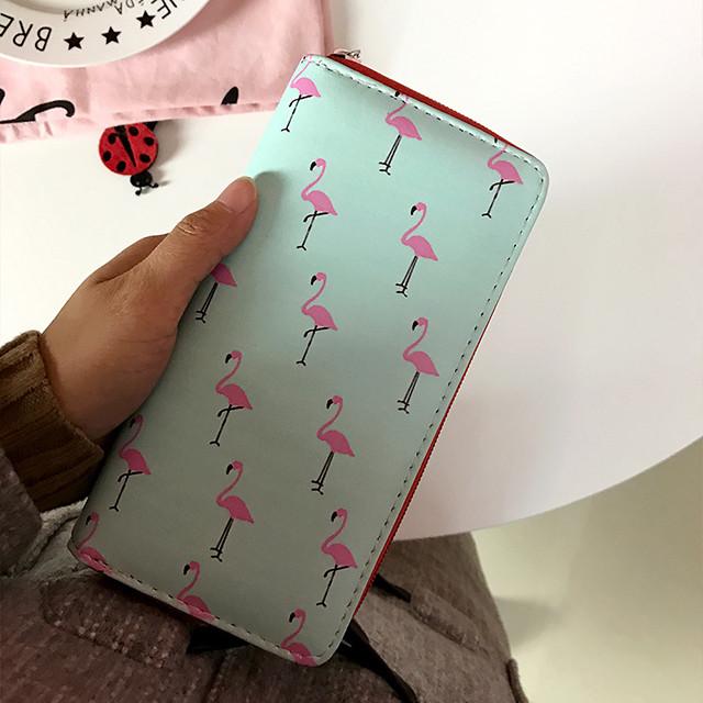 Молодежный кошелек с фламинго