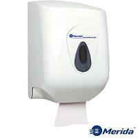 Держатель для бумажных полотенец в рулонах MAXI из ударопрочного ABS пластика MERIDA TOP (серая капля), Англия, фото 1