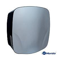 Диспенсер для отдельных бумажных полотенец Merida Mercury (нержавейка+чёрный ABS пластик), Англия, фото 1