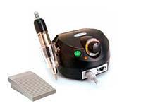 Фрезер для маникюра, комбинированного педикюра Escort 2 Pro черный, 30-35 000 об/мин с реостатной педалью