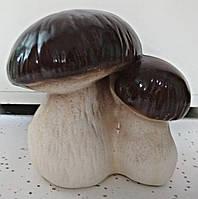 Садовая фигура гриб боровик двойной керамический