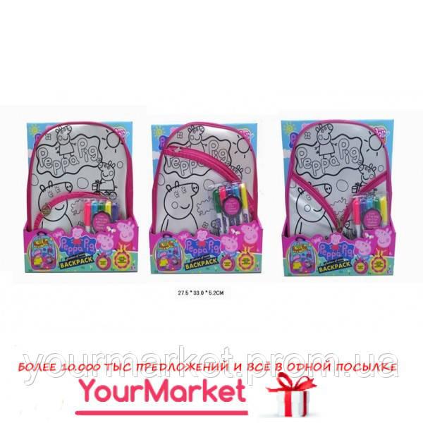 Сумка-раскраска JX20254P-2/3/4 (60шт/2)раскрашивать рюкзак, в коробке