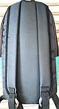 Городской черный рюкзак Wallaby 18*38 см, фото 3