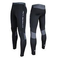 Утепленные мужские спортивные штаны Radical Thunder , компрессионные штаны, штаны для бега и велоезды