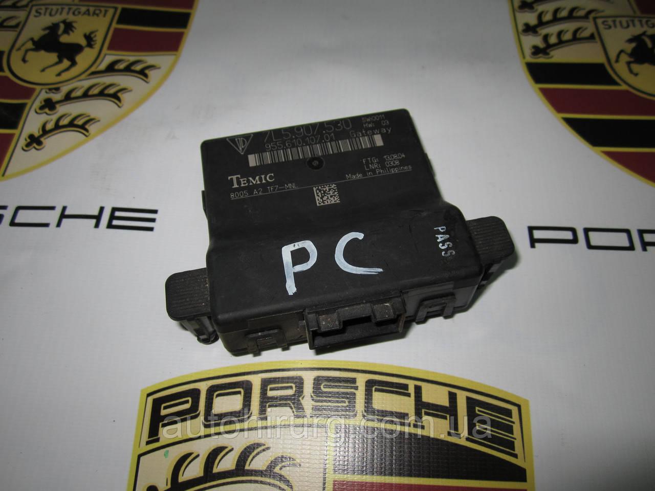 Блок диагностики давления шин (модуль) gateway Porsche Cayenne 955 (7L5907530), фото 1