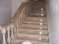 Мраморные лестницы Emperador Light