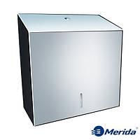 Держатель для бумажных полотенец из полированной нержавейки 500 шт. Merida Stella Maxi, Польша, фото 1