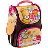 Рюкзак каркасный, ортопедический, школьный Kite Popcorn the Bear PO18-501S-2