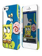 Чехол для iPhone 4/4s/5/5s/5с спанч боб и гэри sponge bob
