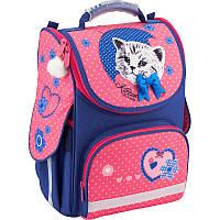 Рюкзак каркасный, ортопедический, школьный Kite Pretty kitten K18-501S-7, фото 1