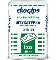 Штукатурка гипсовая  Еко Изогипс стартовый 30 кг