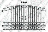 Кованые ворота 3316х2000