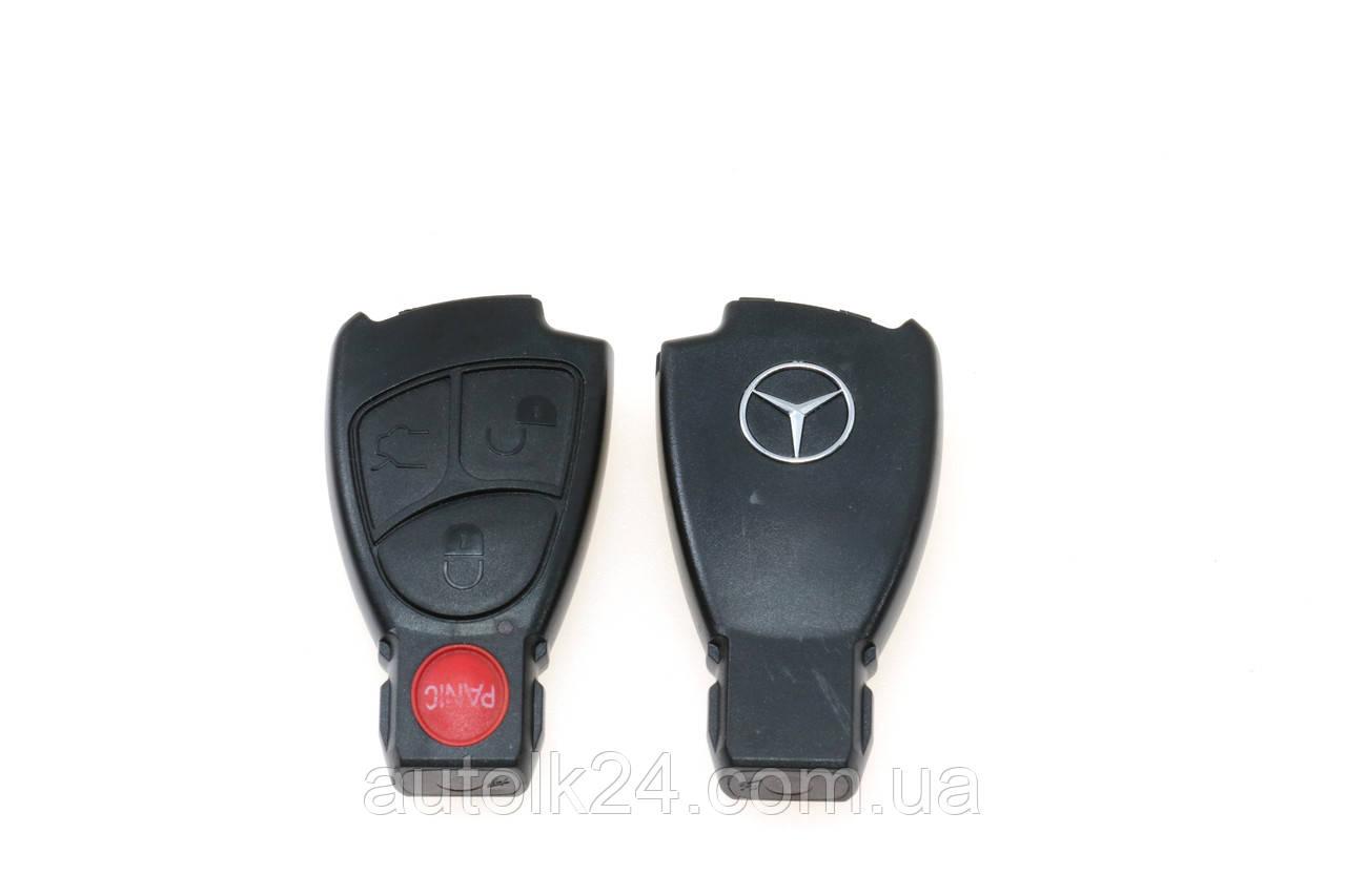 Корпус смарт ключа 4 кнопки для Mercedes Benz