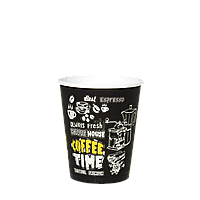 """Стакан бумажный 175 мл. Coffee Time 50шт (54/2700) (КР69/""""Т"""" КР70), фото 1"""
