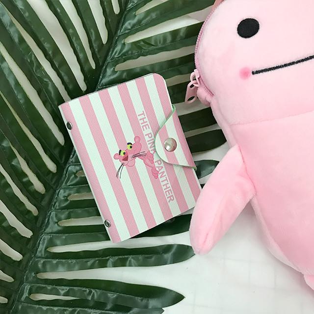 картхолдер с розовой пантерой