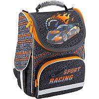 Рюкзак каркасный, ортопедический, школьный Kite Sport racing K18-501S-2