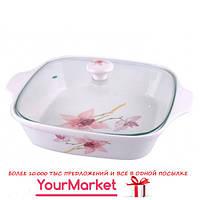 Блюдо для запекания и хранения с крышкой Орхидея Lefard 264-100