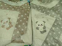 """Коверт-одеяло для новорожденных """"Панда"""""""