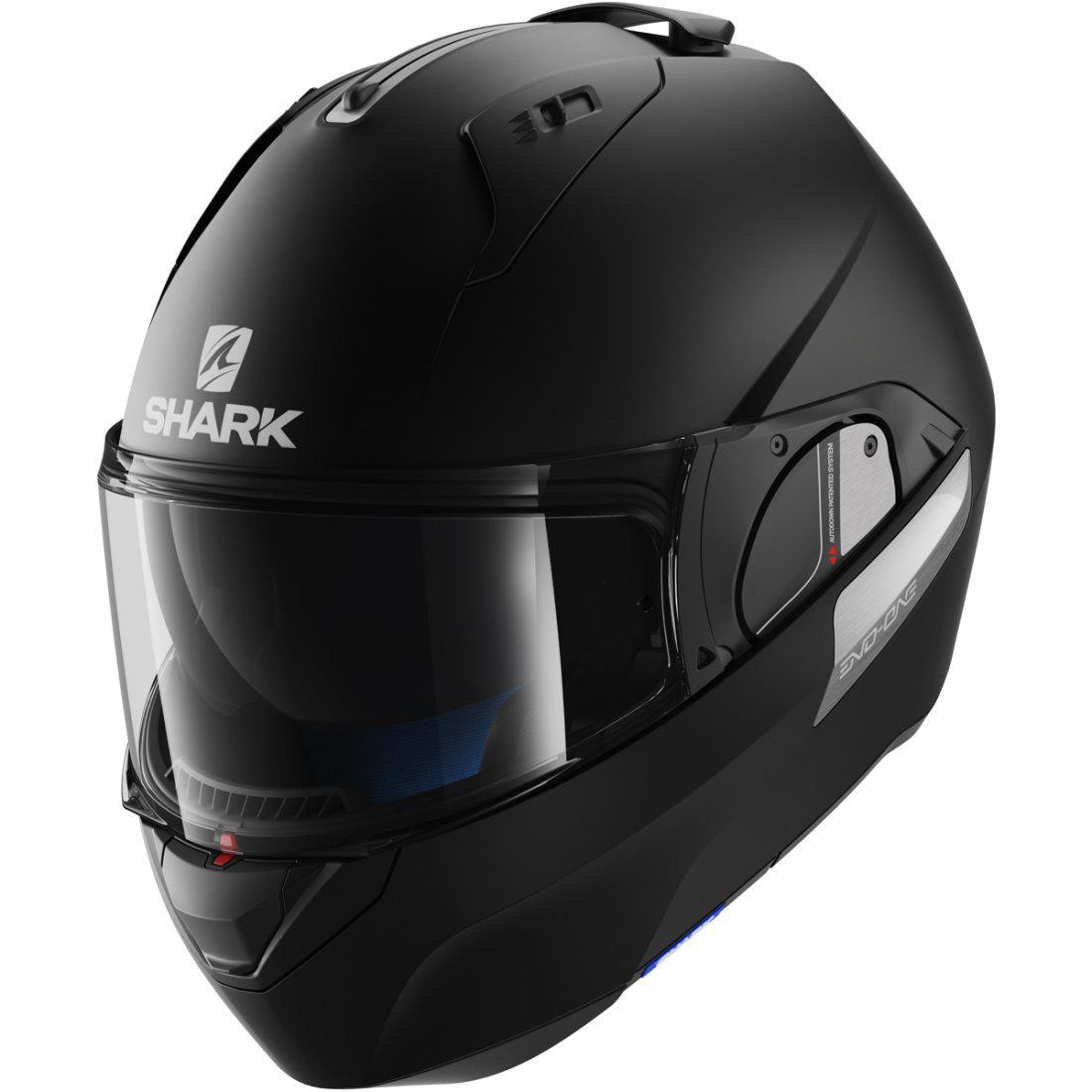 Шлем Shark Evo-one 2 р.S черный матовый