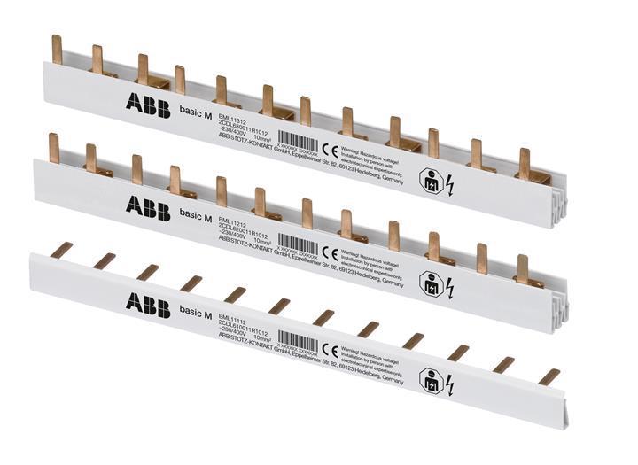Шина 1-полюсная 12M ABB BASIC M (BML11112)