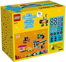Конструктор Lego Classic Кубики и колеса 10715