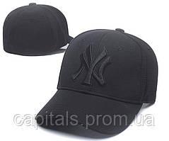 "Кепка MLB New York Yankees Snapback ""All Black"""