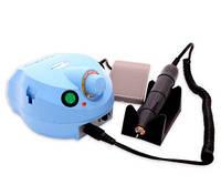 Фрезер для маникюра, комбинированного педикюра Escort 2 Pro голубой, 40 000 об/мин с педалью вкл/выкл
