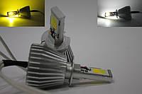 Автолампы LED COB, HB3 (9005), Dual Color, Двухцветная 3000/6000k