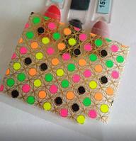 3D наклейки неоновые, яркие