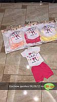 Детский нарядный костюм для девочек от 6 до 12 мес.