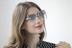 Солнцезащитные женские очки (387-4), фото 3