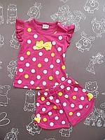 Детский летний костюм Катюша для девочки на 9-12 месяцев