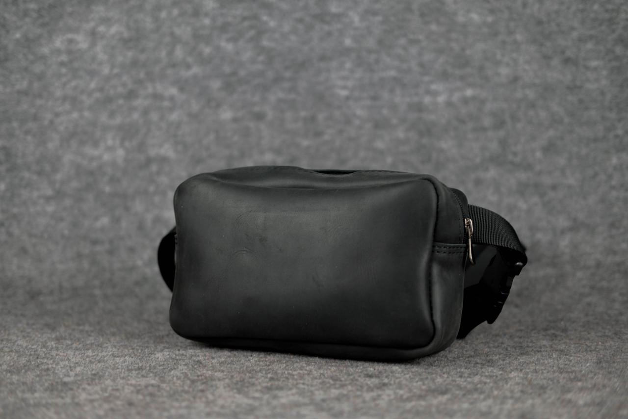 Прямоугольная сумка бананка |11734| Черный