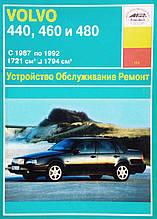 VOLVO 440 / 460 / 480  Модели 1987-1992 гг.Устройство • Обслуживание • Ремонт