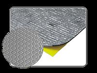 Самоклеючий бітумний звукоізолюючий матеріал - з шаром алюмінію 500х500мм АРР 050903