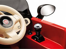 Детский Электромобиль Fiat 500 Red 6V c пультом, мощность 60W, фото 3