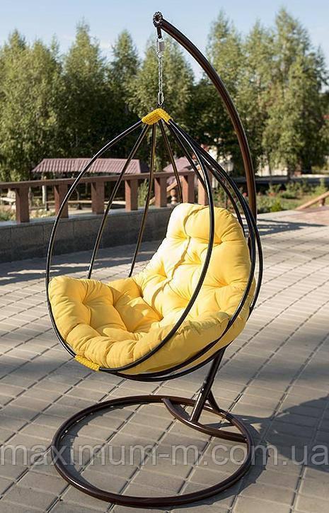 """Подвесное кресло из ротанга """"Adel""""."""