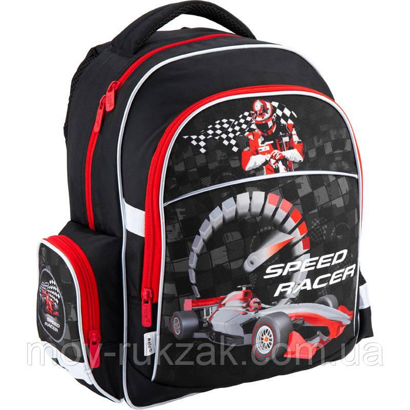 91fa55cb5846 Рюкзак ортопедический школьный Kite Speed racer K18-510S-1 -
