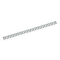 Пружина металлическая d 6,4 мм, черная, 100 шт. 2806-A