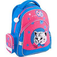 Рюкзак ортопедический школьный Kite Pretty kitten K18-521S-2